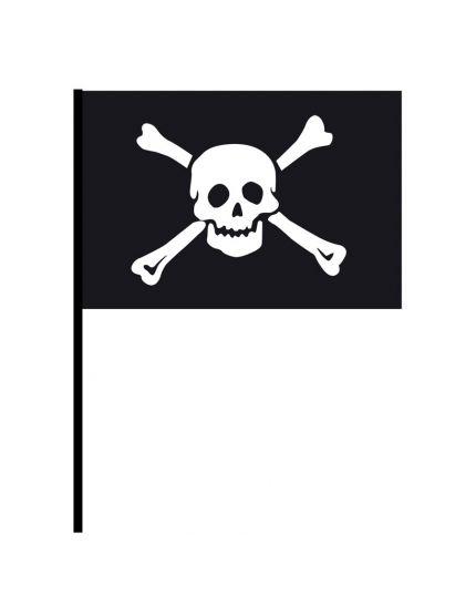 Bandiera Pirata con Asta 59cm