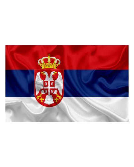 Bandiera Serbia 100x140cm