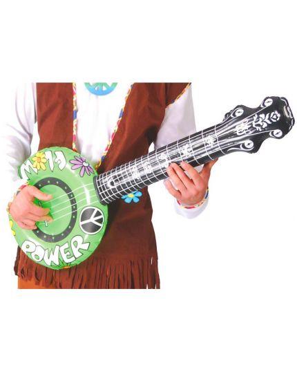 Chitarra Banjo Hippie Gonfiabile 86cm