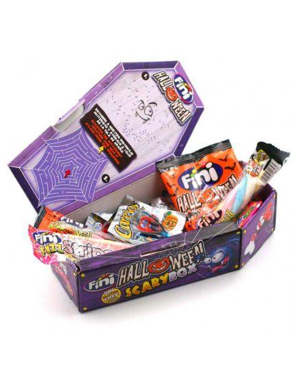 Caramelle Scatola Bara Halloween Scary Box Fini