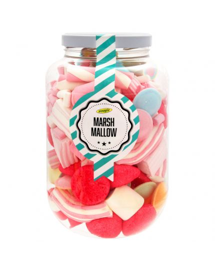 Barattolo Marshmallow Multicolor Mix Woogie 730gr