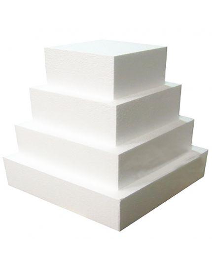 Base per Torte Polistirolo Rettangolare Altezza 10cm Varie Dimensioni Poliart