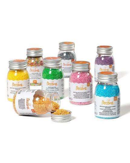 Bastoncini Zucchero Colorati Decora 90gr
