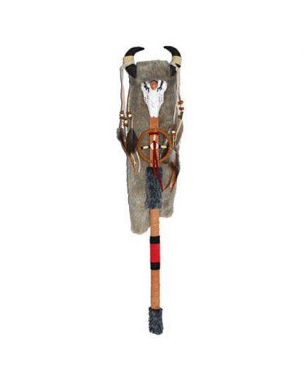 Bastone Sciamano Indiano 66cm
