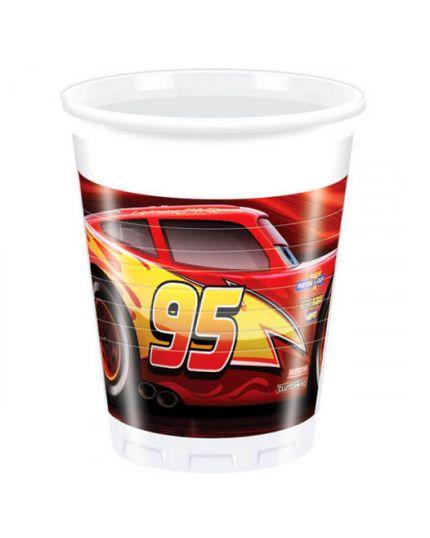 Bicchieri Pvc Cars Legend