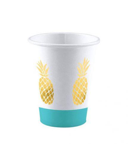 Bicchieri Carta Ananas