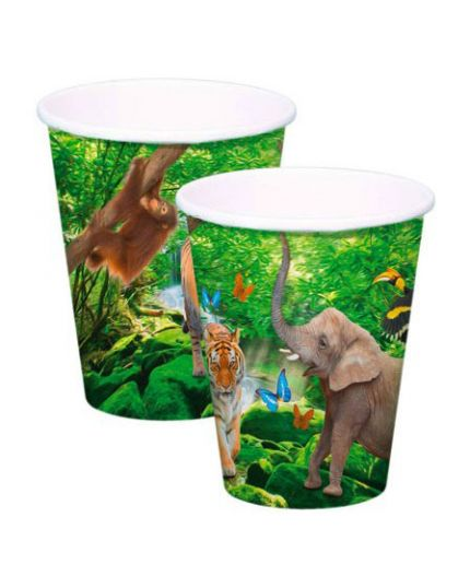Bicchieri Carta Safari