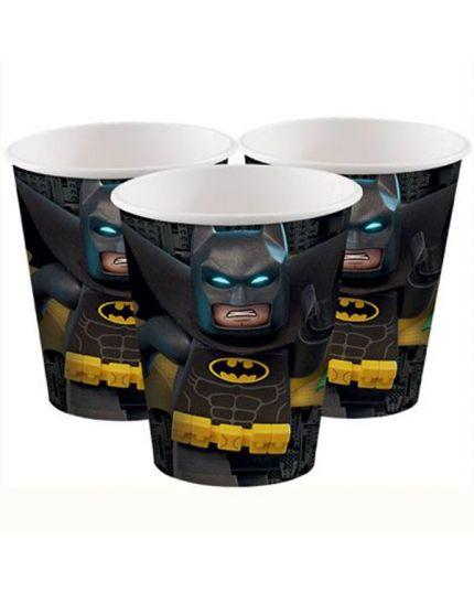 Bicchieri Carta Lego Batman