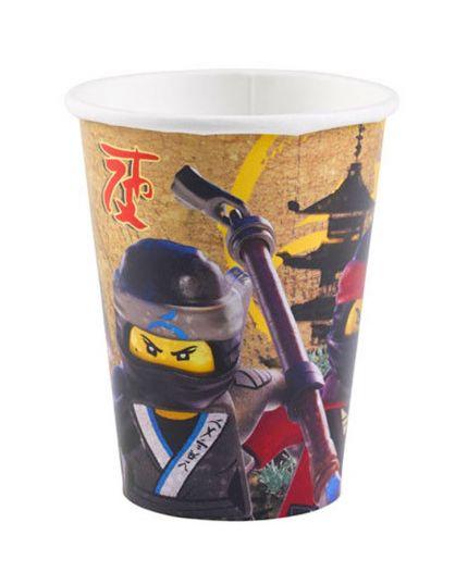 Bicchieri Carta Ninjago