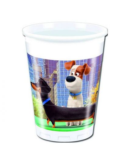 Bicchieri Pvc Secret Life of Pets