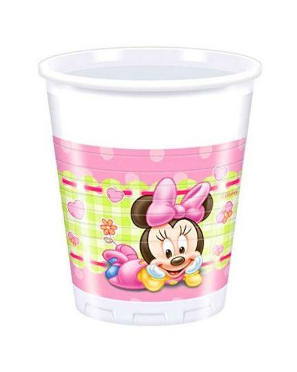 Bicchieri Plastica Baby Minnie