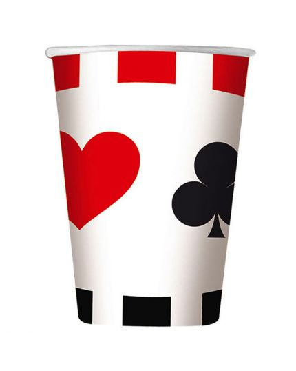 Bicchieri Carta Big Poker