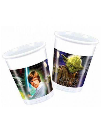 Bicchieri Pvc Star Wars