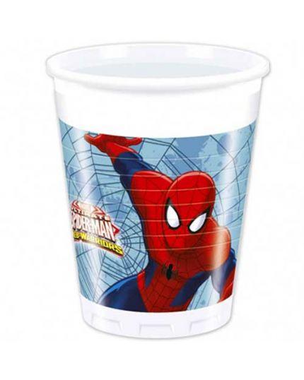 Bicchieri Pvc Ultimate Spiderman