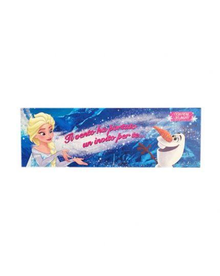 Blocchetto Inviti Frozen Il Vento Ha Portato un Invito