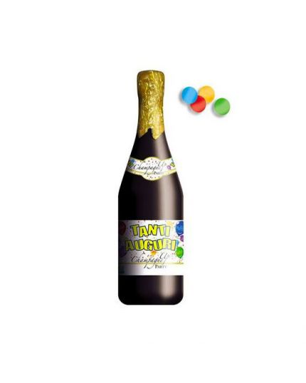 Sparacoriandoli Bottiglia Spumante Tanti Auguri 20cm