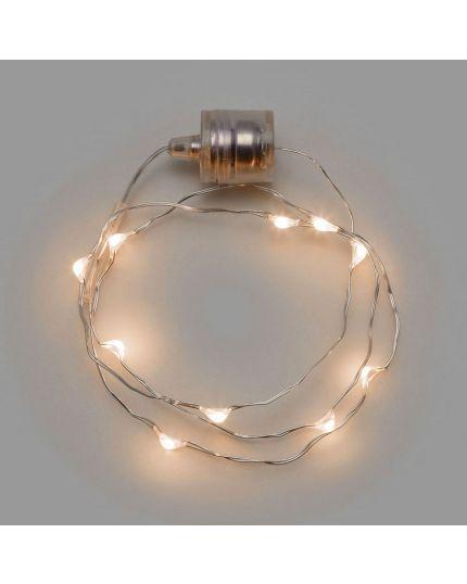 Filo Braccialetto Luminoso Micro LED Colorato