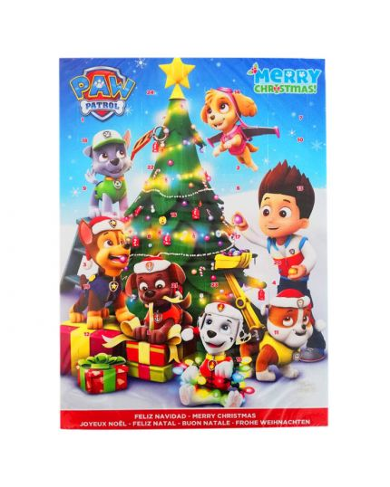 Calendario dell'Avvento Paw Patrol Merry Christmas Only