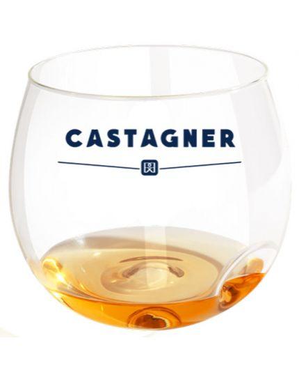 Bicchiere Calice Vetro Bolla Castagner