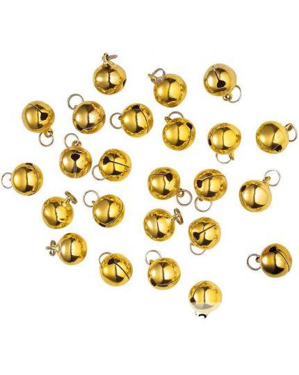 Campanellini Oro Extra Sonori 1.3cm 24pz
