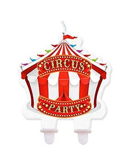 Candelina Sagomata Tendone Circo