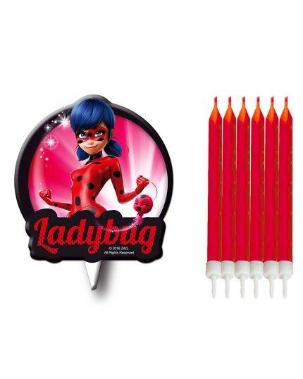 Candeline Compleanno LadyBug