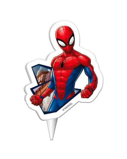 Candelina Sagomata Spiderman