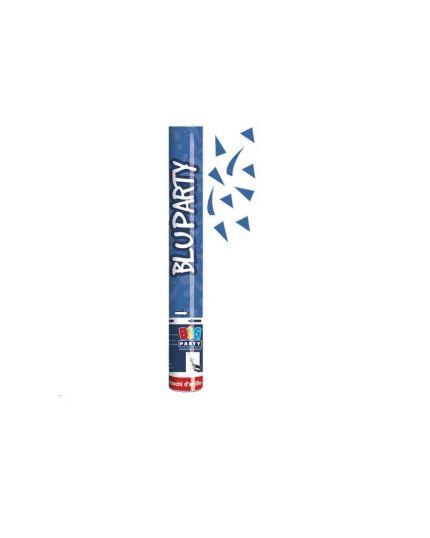 Tubo Sparacoriandoli Blu 40cm