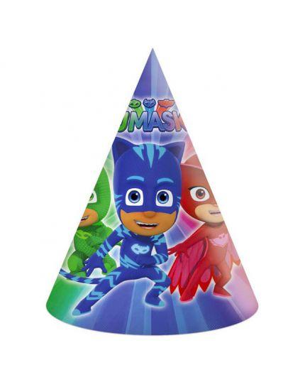 Cappellini Carta Pj Masks Super Pigiamini