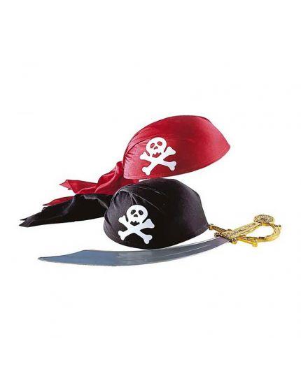 Cappello Bandana Pirata Tessuto