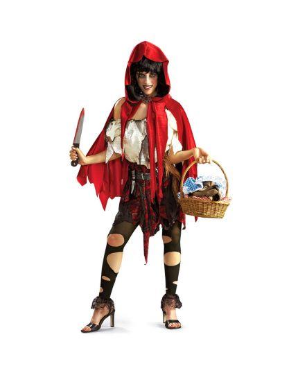 Costume Cappuccetto Rosso Killer Donna