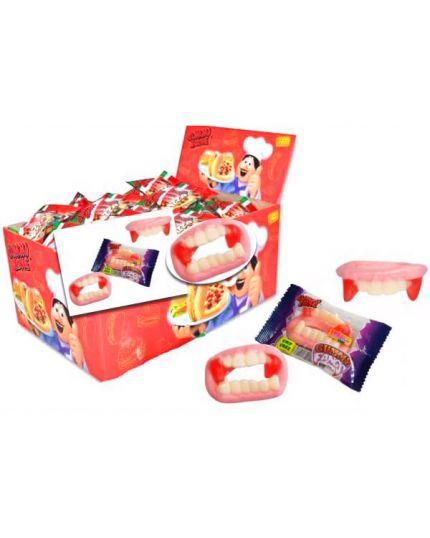 Caramelle Gommosa Dentiera Horror Gummy Zone 10gr