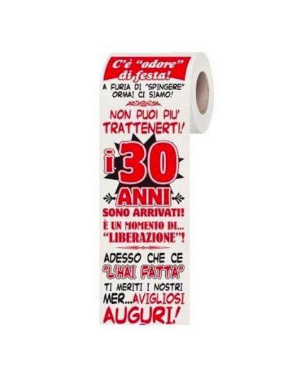 Carta Igienica 30 Anni