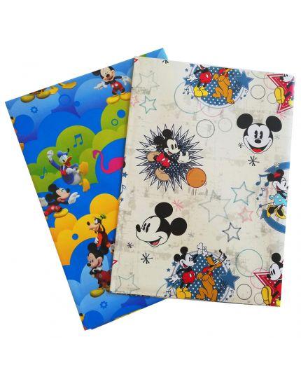 Foglio Carta Regalo Mickey Topolino Colorata 70x100cm