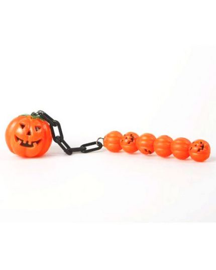 Catena Mazza Zucche di Halloween Pvc 38cm