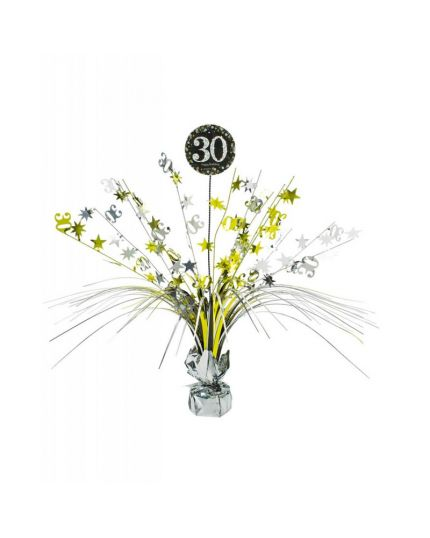 Centrotavola Happy Birthday 30 Anni Sparkling