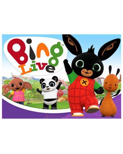Cialda per Torte Ostia Coniglietto Bing Personalizzabile
