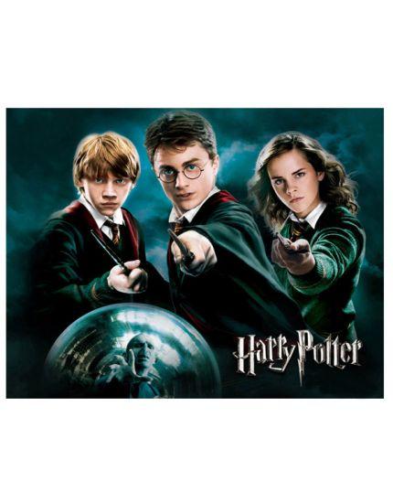 Cialda Rettangolare per Torte Ostia Harry Potter Personalizzabile