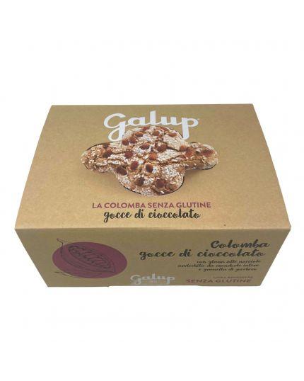 Colomba con Gocce di Cioccolato Senza Glutine Galup 400Gr