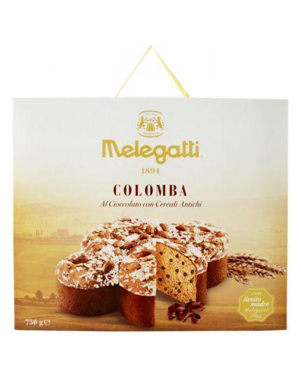 Colomba Cereali Antichi e Cioccolato Melegatti 750gr