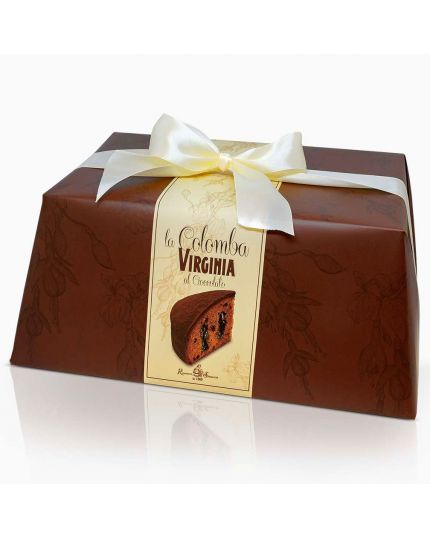 Colomba al Cioccolato Total Black Incartata Virginia 850gr