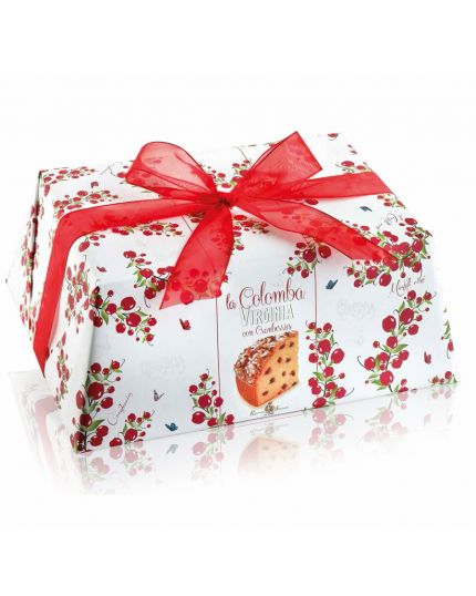 Colomba Cramberries alle Ciliegie Incartata Virginia 750gr