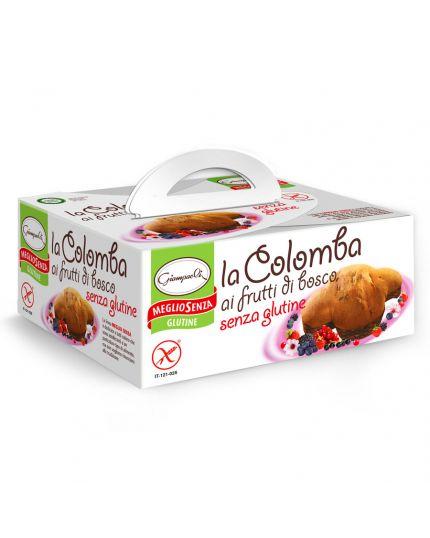 Colomba ai Frutti di Bosco Senza Glutine Giampaoli 400gr
