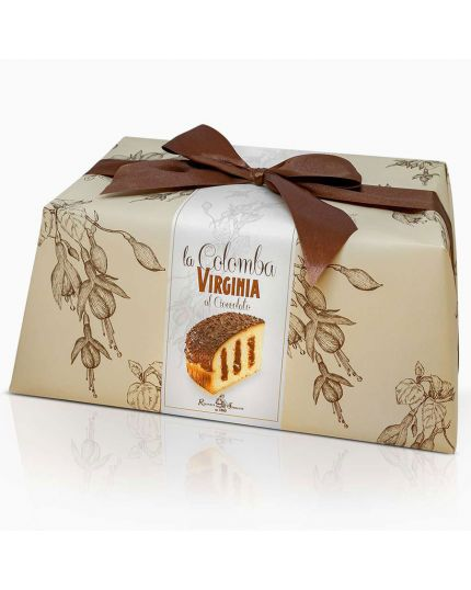 Colomba al Cioccolato Incartata Virginia 850gr