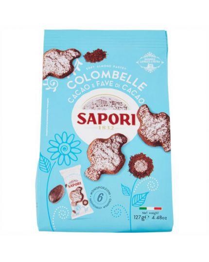 Pasticcini Colombelle Cacao e Fave di Cacao Sapori 127gr