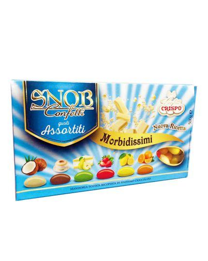 Confetti Crispo Snob Morbidissimi Gusti Assortiti 500gr