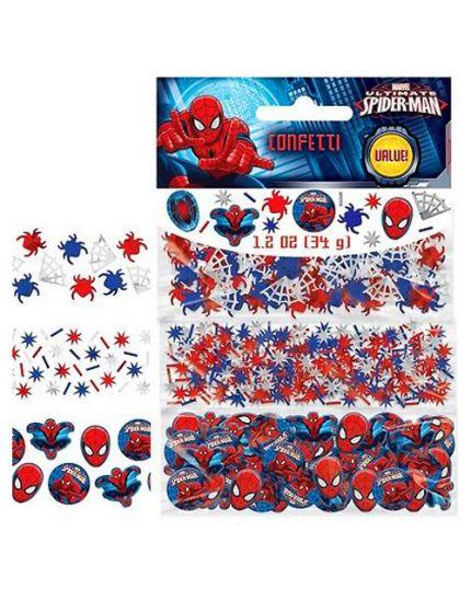 Coriandoli Confetti da Tavola Carta e Metal Spiderman