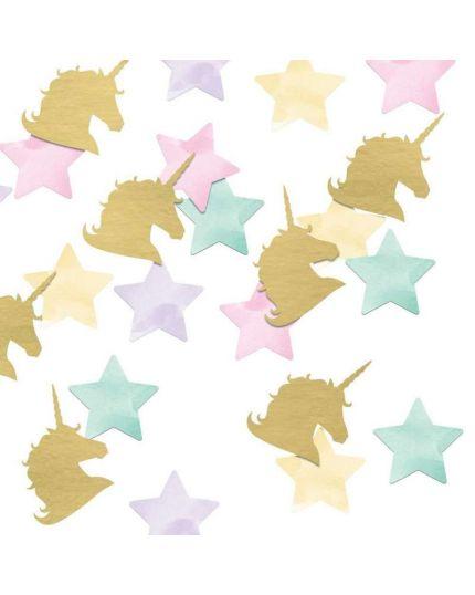 Coriandoli Confetti da Tavola Unicorn Sparkie