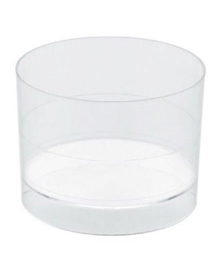 Coppette Bicchierini Zero Pvc Trasparente per Finger Food 15pz