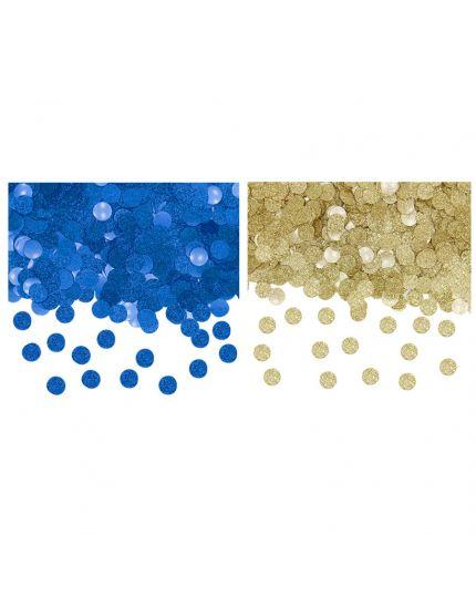 Coriandoli Confetti da Tavola Glitter Colorati 1cm